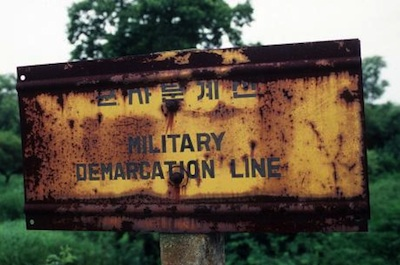 Photo: N. Korea Military Demarcation Line photo